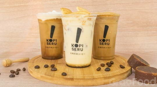 Harga Menu, Review dan Foto Kopi Seru - BTC Fashion Mall