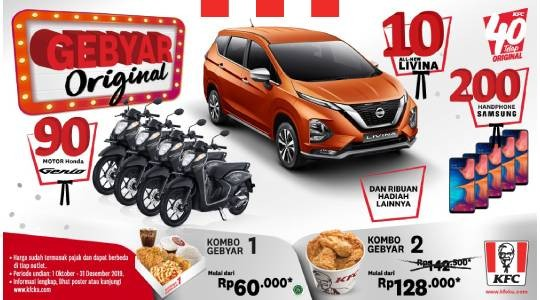 Harga Menu, Review dan Foto KFC - Paris vAn JavA
