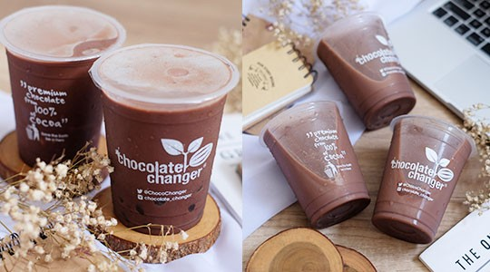 Harga Menu, Review dan Foto Chocolate Changer - Suci