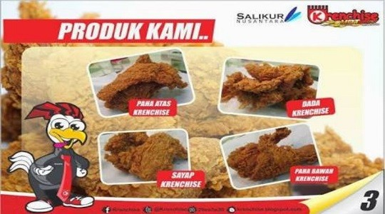 Harga Menu, Review dan Foto Krenchise Fried Chicken Cibaduyut - Cibaduyut